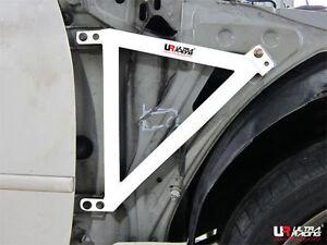 1 Pair ULTRA RACING fit 1998-2005 LEXUS IS300 ALTEZZA 3POINT FENDER BRACE BAR