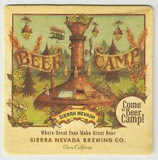 16 Sierra Nevada Come To Beer Camp  Beer Coasters