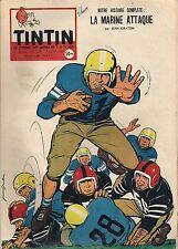 JOURNAL DE TINTIN N°509 - 24 JUILLET 1958 JEAN GRATON, LA MARINE ATTAQUE