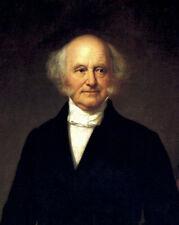 Stunning nice Oil painting America President Martin Van Buren Realism art