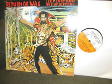 Lee Perry & The Upsetters Return Of Wax LP justice league jllp5003 '75 black ark