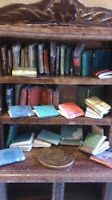 dolls house miniature books, vintage style job lot of 40! books Library Fillers
