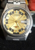VINTAGE CITIZEN EAGLE7 AUTOMATIC WATCH with ARABIC AND ENGLISH DAY / DATE