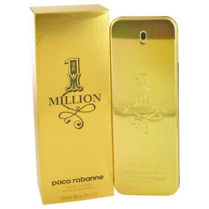 1 Million for Men by Paco Rabanne 6.7 oz Eau de Toilette Spray NIB