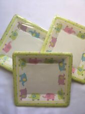 Caspari Dessert Party and Baby Shower Plates - Baby Quilt