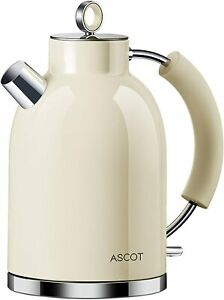 ASCOT Kettle-Electric-Cordless-Fast-Boil, Stainless Steel Filter Kettles 3000w