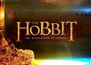 Hobbit The Desolation Of Smaug Complete 72 Card Foil Parallel Base Set