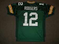 Aaron Rodgers Green Bay Packers Green Authentic Jersey by Reebok sz 50 New Mens