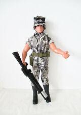 Hasbro 1992 (30 cm) Action Man Soldat GI Tenue Désert