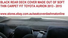 DASH MAT, BLACK DASH MAT, DASHBOARD COVER  FIT TOYOTA AURION 2013 - 2015