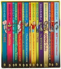 The Classic Roald Dahl Collection - 15 Paperback Book Boxed Set