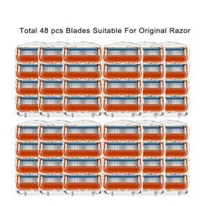 Cuchillas de afeitar de 5 capas para Gillette Fusion 5 Proglide Proshield