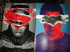 Batman v Superman Promo IMAX Posters (2016)-NEW-13x19 w/bonus collectible ticket
