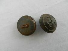 UN ancien bouton militaire français marine 23 mm.