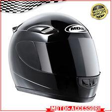Casco integrale Chiuso MDS Taglia XS Modello GP1 Moto Scooter NERO omologato