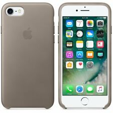 Apple iPhone 7 Leather Case Taupe