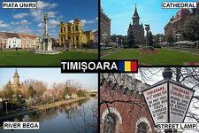 SOUVENIR FRIDGE MAGNET of TIMISOARA ROMANIA