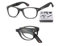 Occhiali Pieghevoli da Lettura da Vista Folding Wayfarer Style Montana MFR61