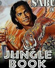 """16mm Film Feature """"Jungle Book"""" Sabu 1942 3-1600' reels"""