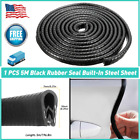 5m Rubber Seal Weather Strip For Car Window Lock Trunk Hood Car Parts U Shape Us