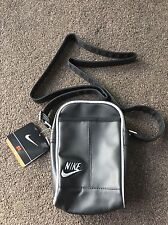 Nike Heritage Pouch Item Bag Black EXCLUSIVE! RARE! VERY HARD TO FIND!!! RETRO!