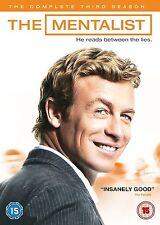 The Mentalist - Season 3 DVD 2011 Simon Baker, Robin Tunney Brand New DVD
