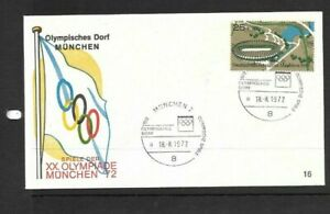 Germany 1972 Olympic Games cover