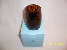 Partylite Tortoise Shell Votive Holder - Nib