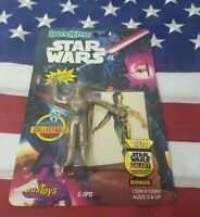JusToys Bend-Ems Star Wars C-3PO Figure
