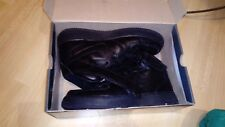 Mens Nike air force one trainers, black, high tops and size 7UK