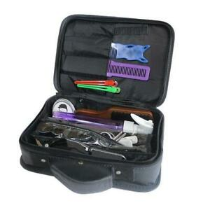 Portable Hair Stylist Carry Bag Hairdressing Tool Clipper Scissors Storage Case