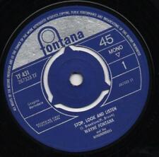 "WAYNE FONTANA*THE MINDBENDERS stop, look and listen*duke of earl 1964 UK BEAT 7"""