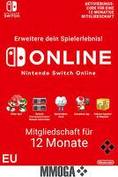 Nintendo Switch Online 12 Monate 365 Tage Einzelmitgliedschaft Download Code EU