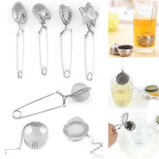 Stainless Steel Tea Leaf Infuser Herbal Spice Filter Diffuser Loose Tea Strainer