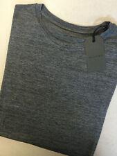 Viscose Short Sleeve Basic Striped T-Shirts for Men