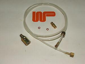CLASSIC MINI ENGINE OIL PRESSURE GAUGE PIPE KIT AND ADAPTORS WPA9588X-KIT