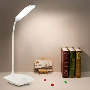 Desk Lamp | 18 LEDs | Super-Bright! | Prevent Eye Strain | Flexible & 360°