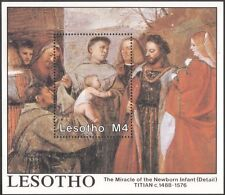 Lesotho 1988 Famous Paintings/Titian/Art/Artists/Painters/People 1v m/s (n16379)