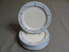 6 American Royalty Stoneware Salad Plates In The Natalie Pattern, Japan