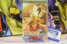 NEUF BRAND NEW  ONE PIECE ROMANCE DAWN PSP JAP , Emballé , Sealed
