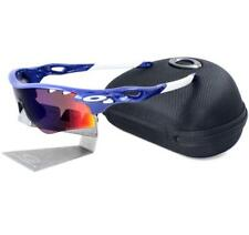 Oakley Custom POLARIZED RADARLOCK Path Vented Team Blue OO Red Lens Sunglasses .