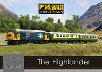 Graham Farish 370-048 The Highlander Digital Train Set