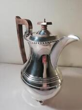 A Large Georgian Style Silver Coffee Pot / Teapot / Water Jug : Chester 1935
