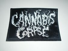 CANNABIS CORPSE DEATH METAL EMBROIDERED PATCH