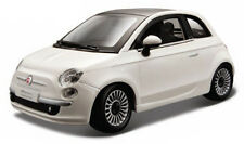 FIAT 500 1:24 scale diecast model die cast vintage car miniature white