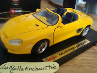 FORD MUSTANG MACH III  CABRIOLET MAISTO SPECIAL EDITION 1/18 OCCASION