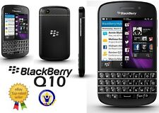 IMPORTED BLACKBERRY Q10 4G★ BLACK★ UNLOCKED★ 100% NEW CONDITION