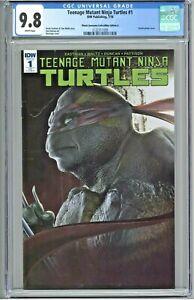 Teenage Mutant Ninja Turtles #1 CGC 9.8 Planet Awesome Edition A Bosslogic RE