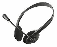 Trust primo Cuffie Stereo con Microfono flessibile e Regolabi(cuffie)