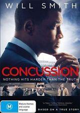 Concussion (DVD, 2016) - Ex Rental & FREE POST